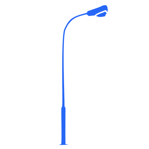 Street lighting poles